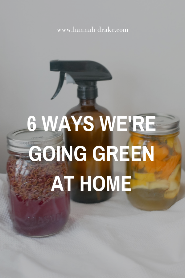 6 Ways to Go Green At Home