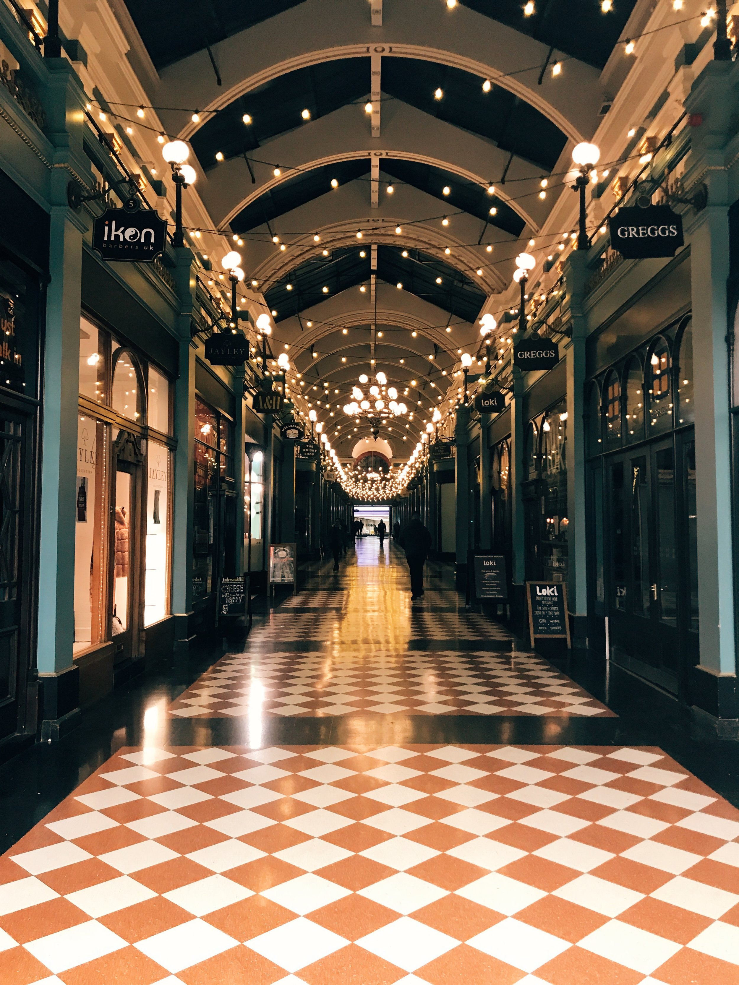 The Great Western Arcade Birmingham