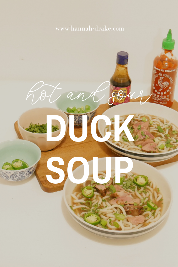 Hot & Sour Duck Soup