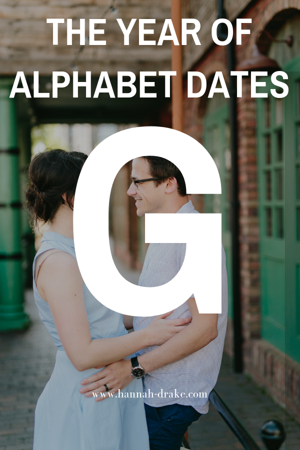 The Year of Alphabet Dates G