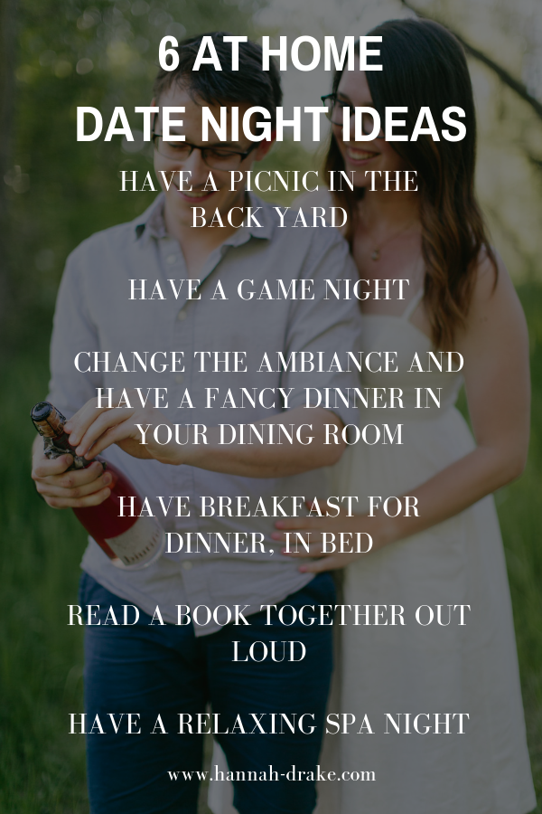 6 Budget-Friendly At-Home Date Night Ideas