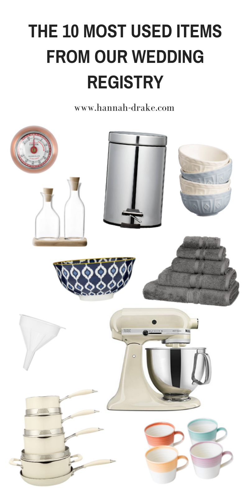 The 10 Most Used Items From Our Wedding Registry