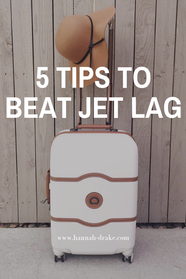 5 Tips to Beat Jet Lag