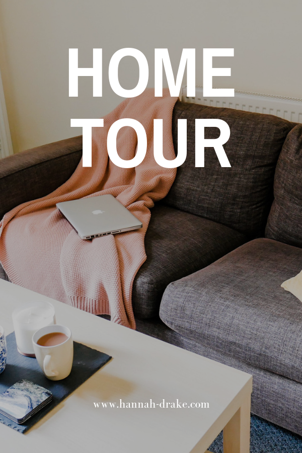 Home Tour - See how we decorated the dining room, living room, and kitchen in our rental on a very small budget