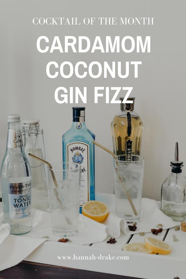 Cardamom Coconut Gin Fizz