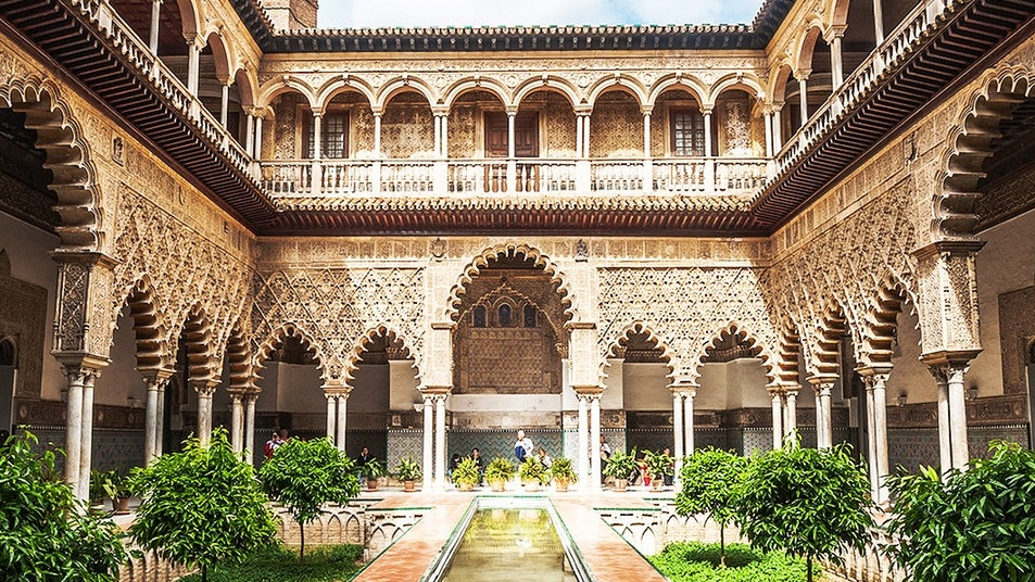 Royal Palace of Alcázar Spain