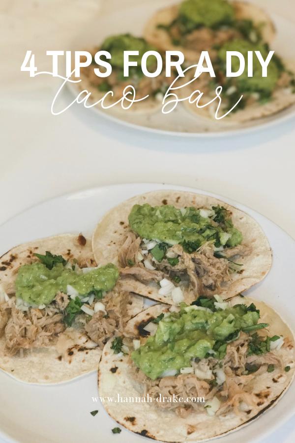 4 Tips for a DIY Taco Bar