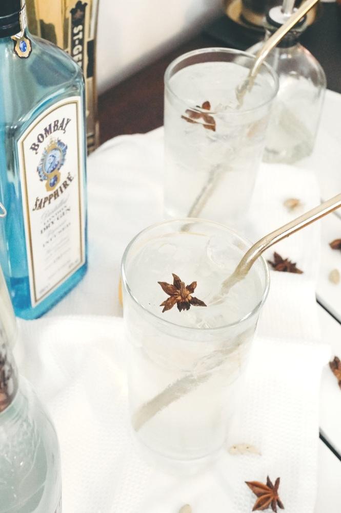 Cardamom Coconut Gin Fizz from Hannah Drake
