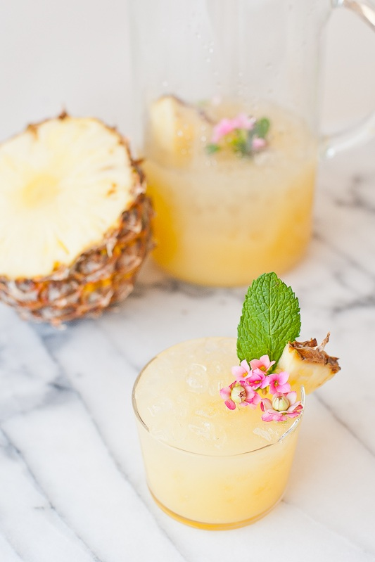 Pineapple Rum Punch from Paper & Stitch