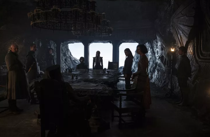 Daenerys War Council Dragonstone