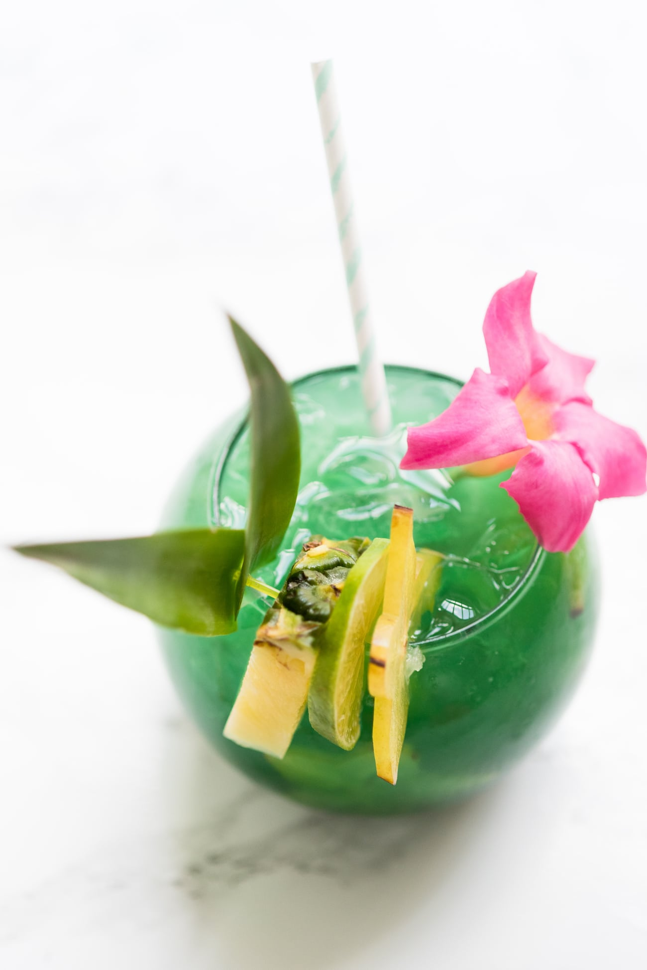 Mermaid Water Fish Bowl Drinks from The Sweetest Occasion