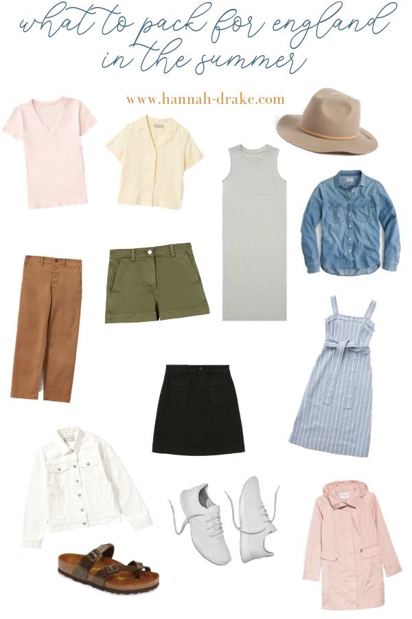 What to Pack for England in the Summer