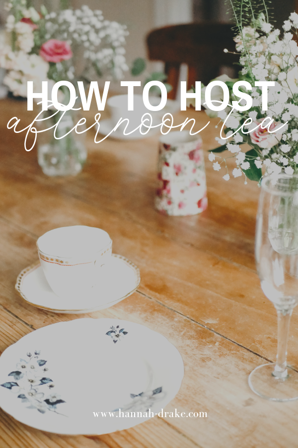 How to Host Afternoon Tea