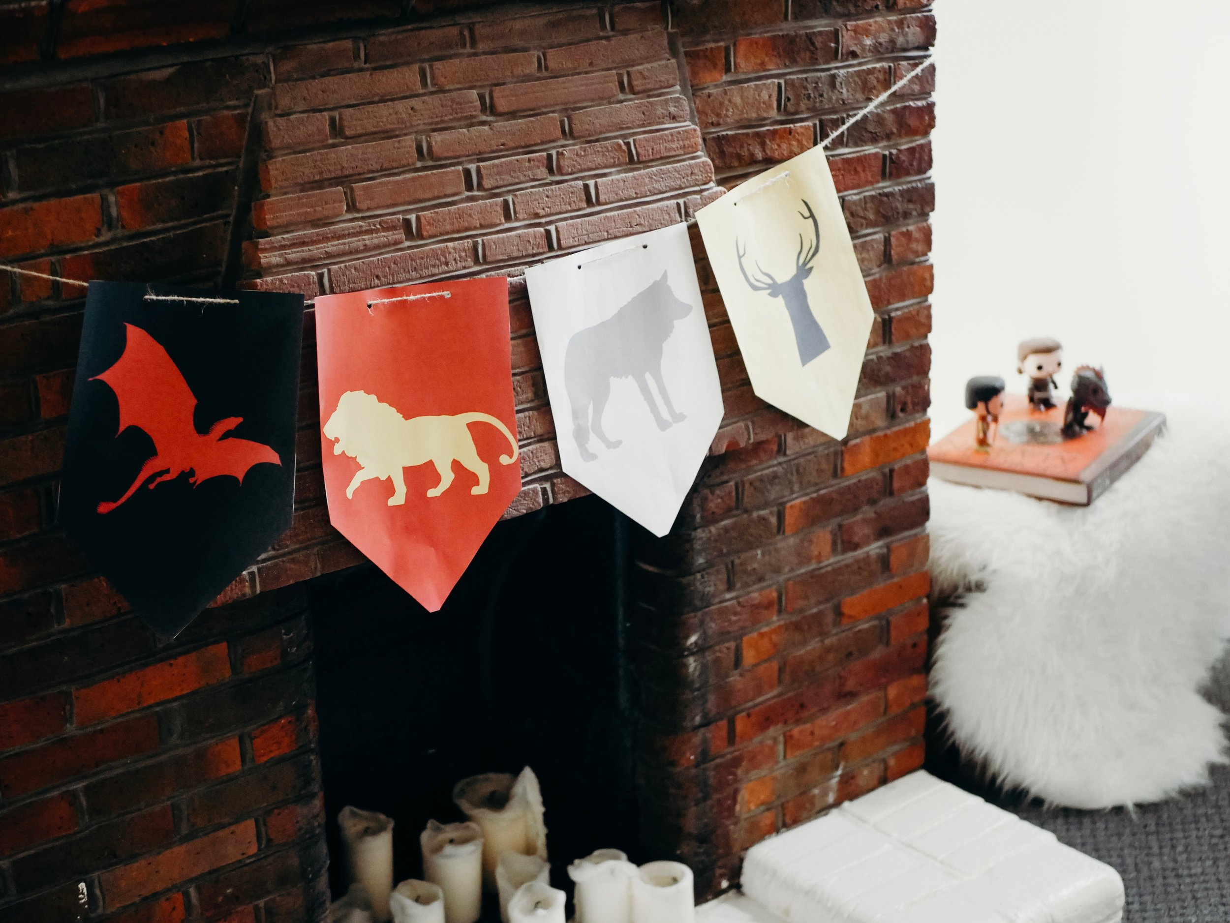 Game of Thrones Sigils Banner