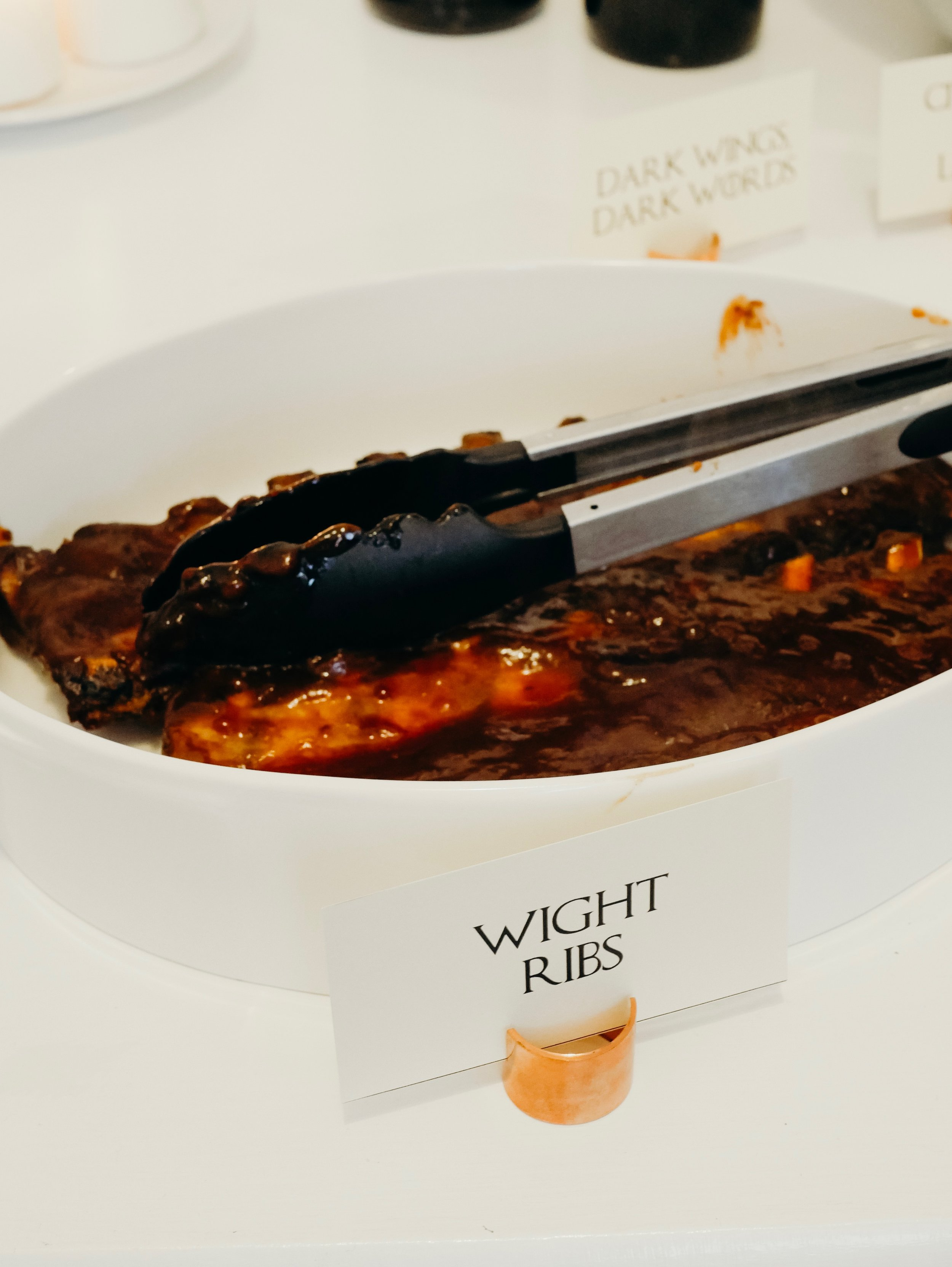 Game of Thrones Party Food - Wight Ribs