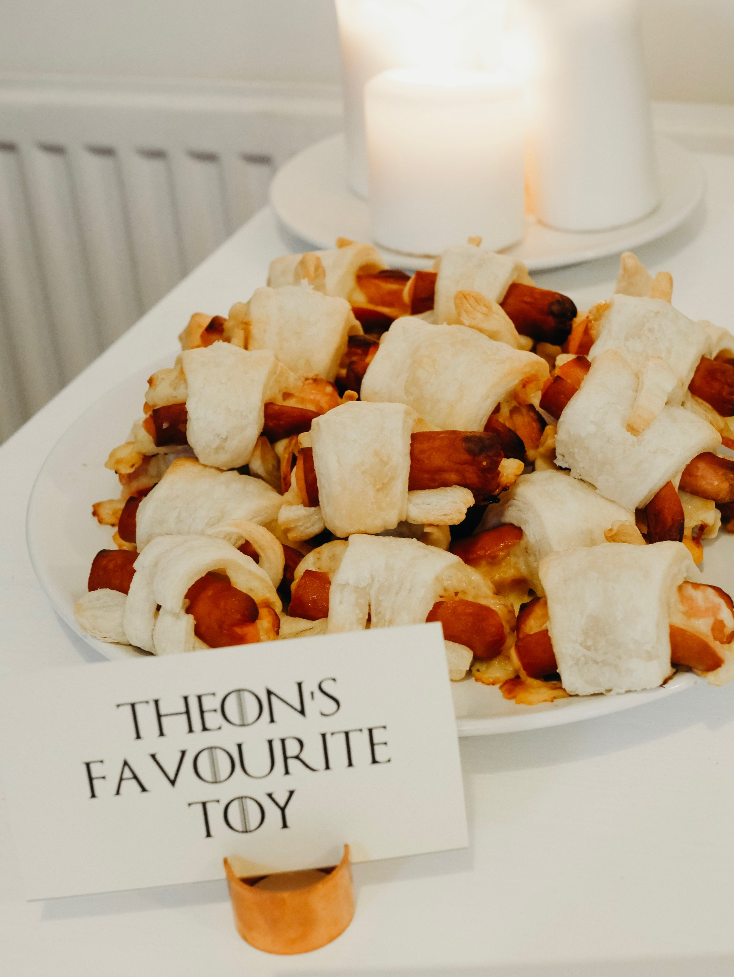 Game of Thrones Party Food - Theon's Favourite Toy