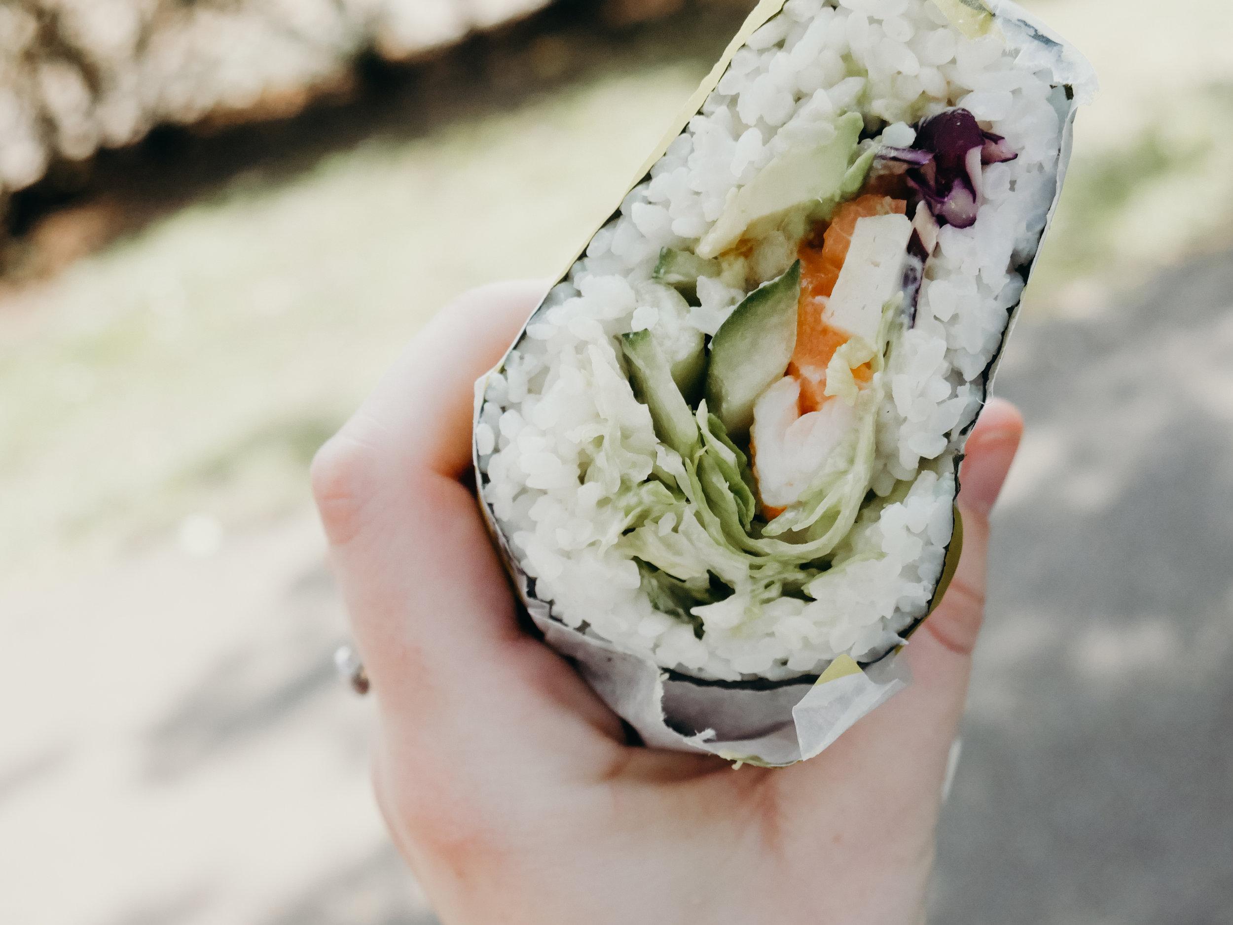 Dai Pai Sushi Burritos Edinburgh
