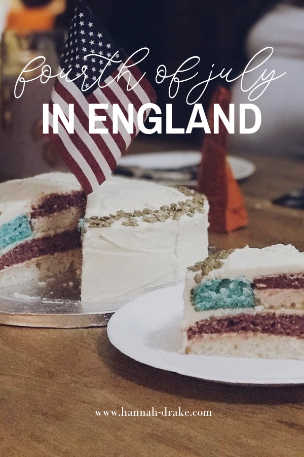 Fourth of July in England