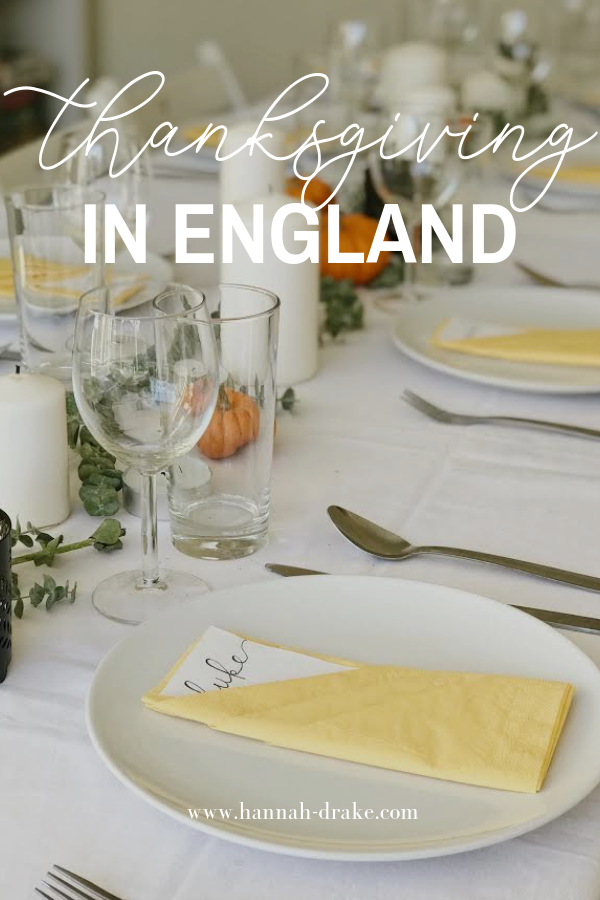 Thanksgiving in England