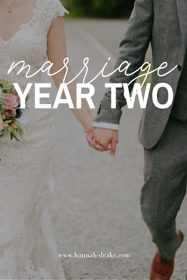 Marriage: Year Two