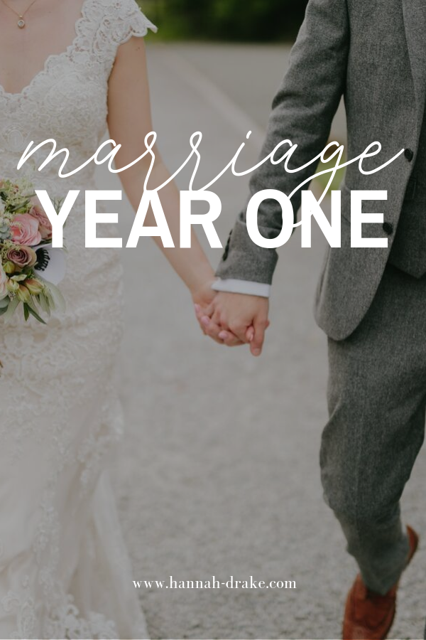 What I Learned During the First Year of Marriage