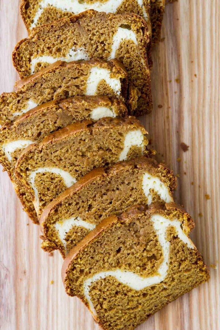 Cream Cheese Pumpkin Bread from Taste & Tell