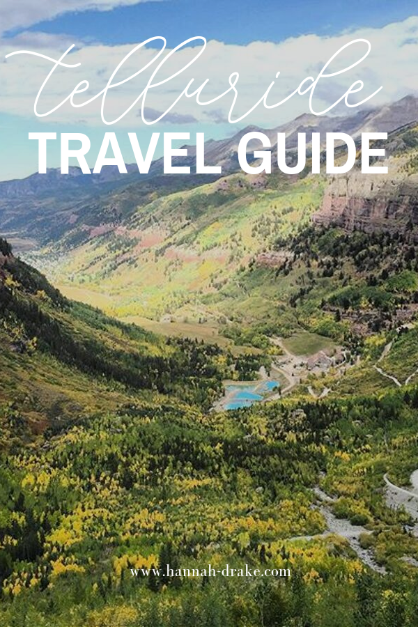 Telluride, Colorado Travel Guide