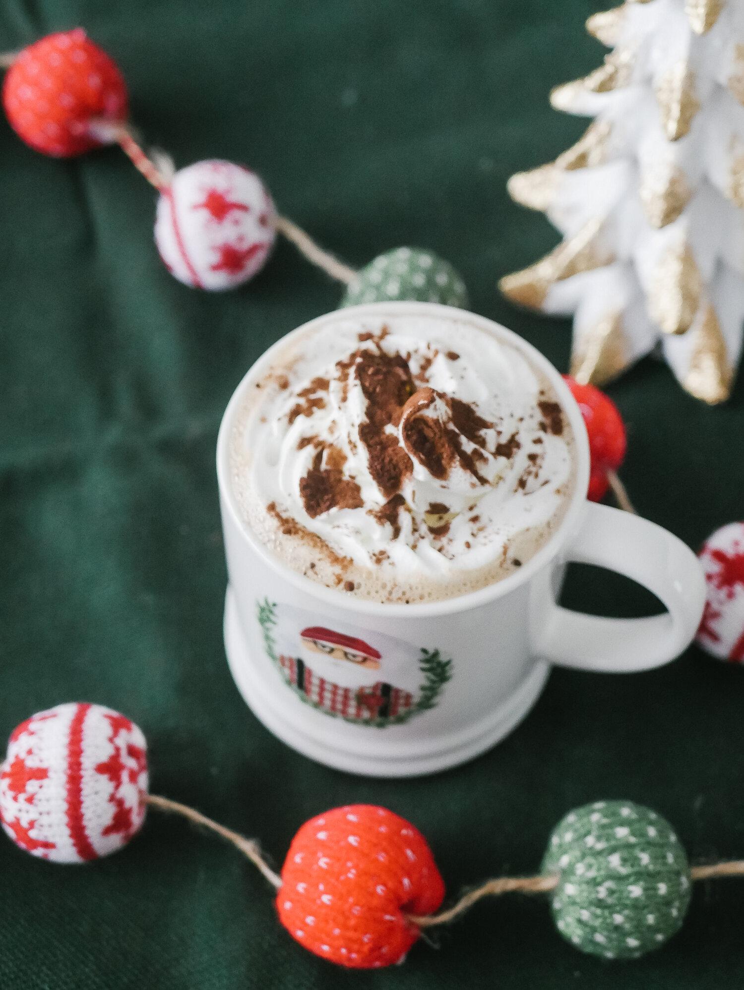10 hot chocolate vials