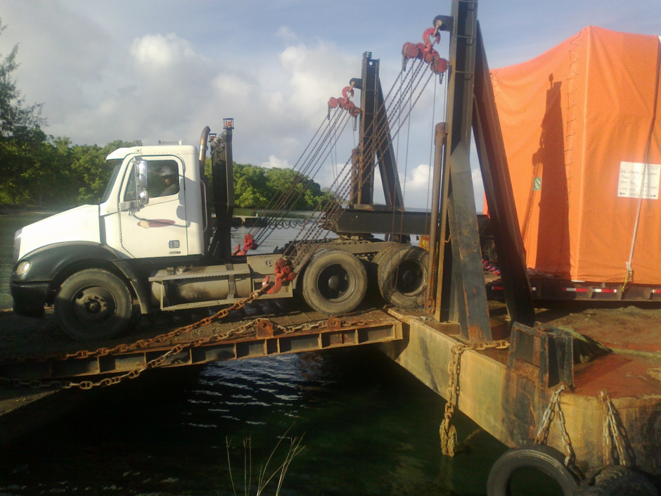CLS Unloaded at Ngaremlengui