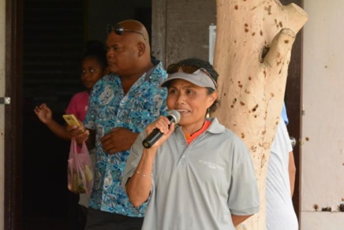 Governor of Ngeremlengui State, Mary Frances Remenesgau