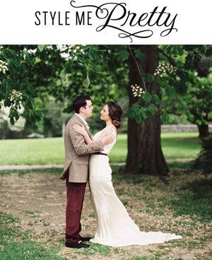 Style Me Pretty, Rustic Audubon Wedding Inspiration  August 15, 2014
