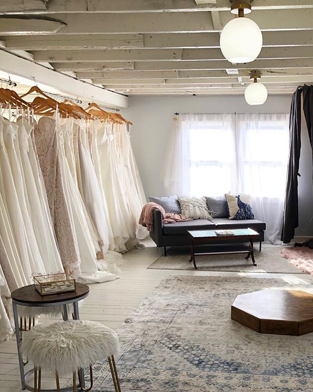 SAMPLE SALE // this sweet bridal loft will be filled with sample sale gowns this Sunday, April 7th from 10am to 2pm! All sale bridal gowns will be under $1k, all sale special occasion gowns will be under $100! First come, first served. We look forward to seeing you there! ✨. . . . . #bridalsale #samplesale #bohobride #loft #mysticct #dresses #prettythings #bohemianrug