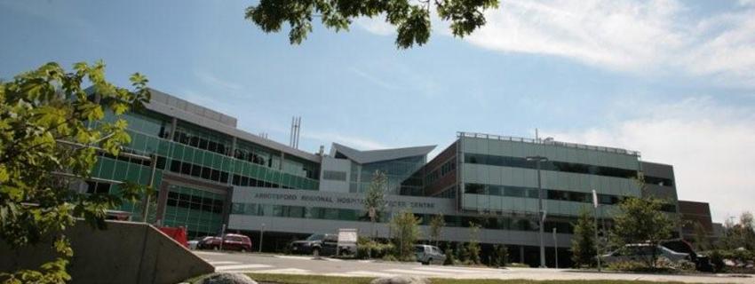My view of Abbotsford Regional Hospital