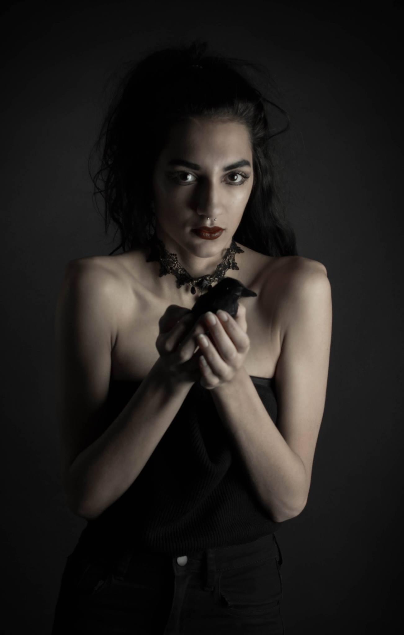 """Dark Crow"" by Mara Watercutter"