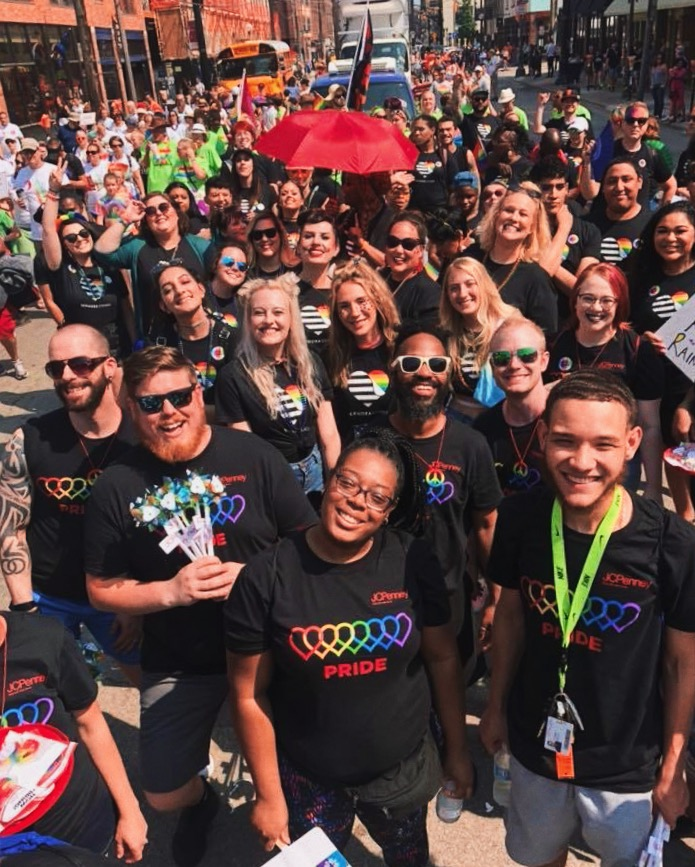 - This past Saturday was one of the most amazing experiences I've had; I got to march in Columbus' Pride Parade with Sephora. It was sooo amazing, we all had our Sephora Stands T'shirts to represent the pride festival and pride themed makeup. Marching in the parade was like nothing else... everyone was screaming