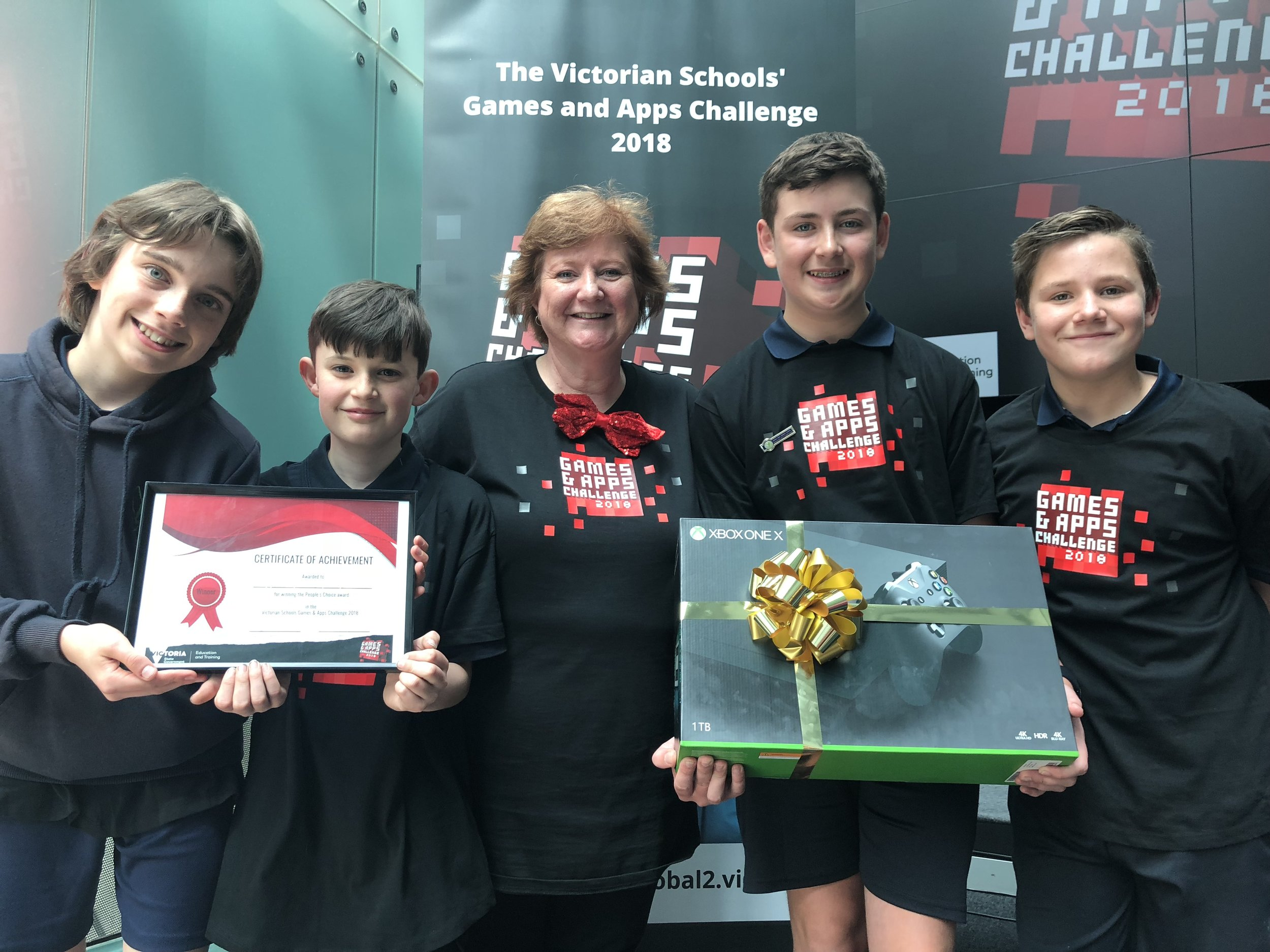 Winners of the 2018 Games and App Challenge