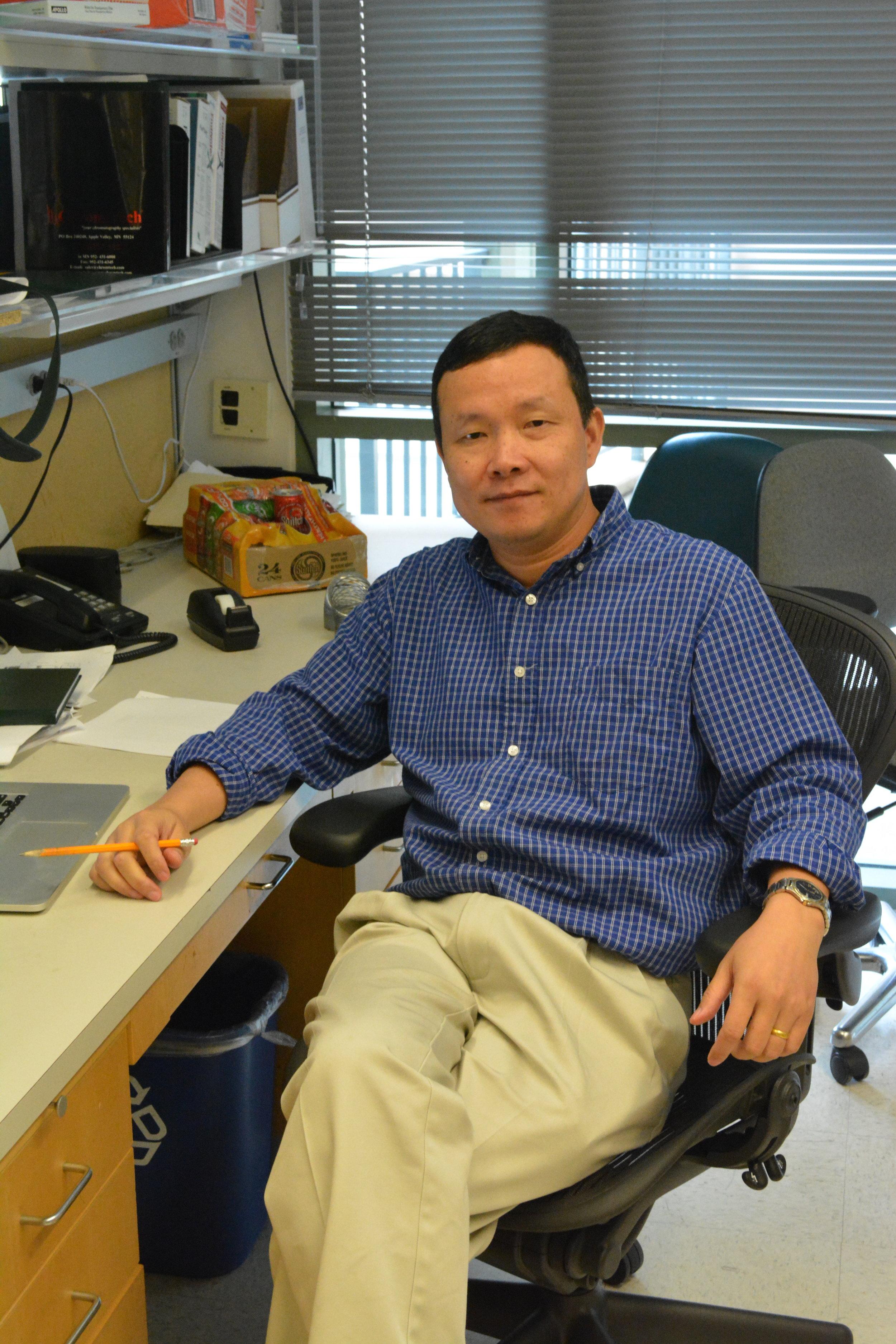 Huilin Zhou, Professor  huzhou@ucsd.edu