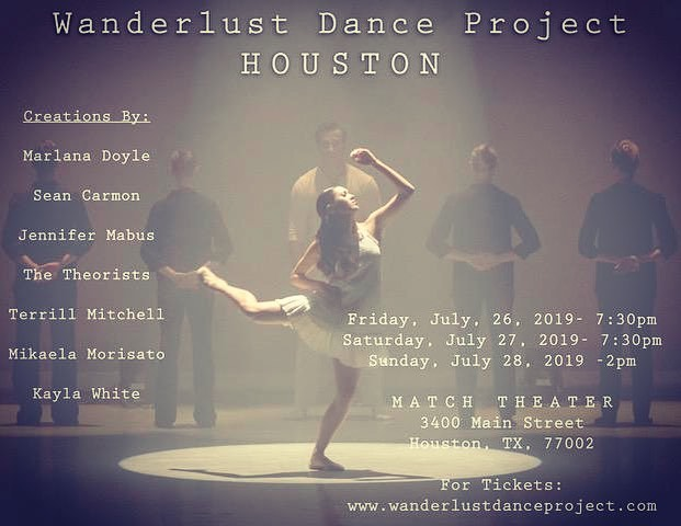 TICKET SALES are up and Saturday evening is going fast🖤 We have limited seating at The MATCH! Buy yours today, and don't miss this incredible show! Link in BIO for all sales! #danceconcert #wanderlust