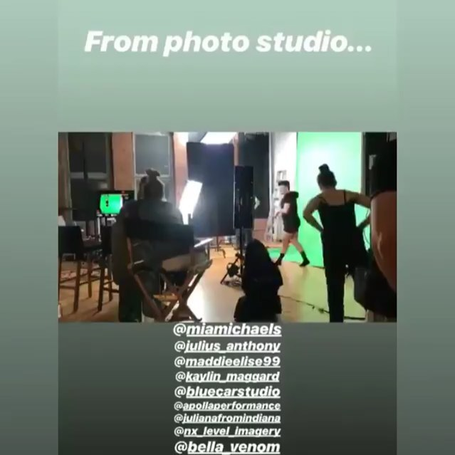 From photo studio to dance studio! An amazing time shooting with these supremely talented people!  #director: @josephdigiovanna & @miamichaels, @julius_anthony, @maddieelise99, @kaylin_maggard, @apollaperformance, @julianafromindiana, @nx_level_imagery, @bella_venom  #photography #film #nyc #studio