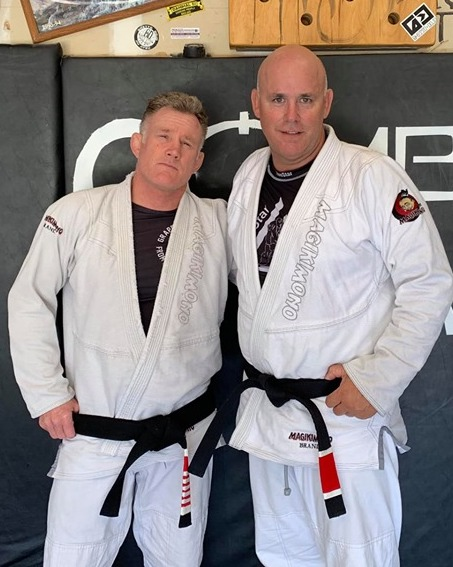 Chris Haueter Promoting Rob to Blackbelt in the USA