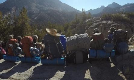 WIW backpacking trip, summer 2016.