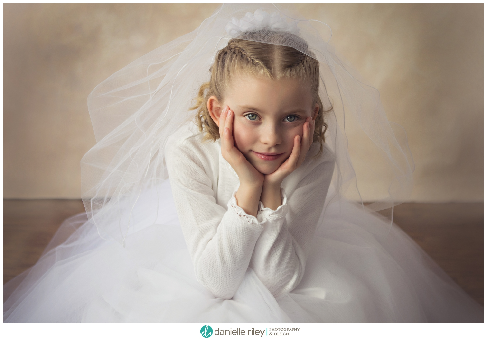 First Communion Portrait Session New Jersey