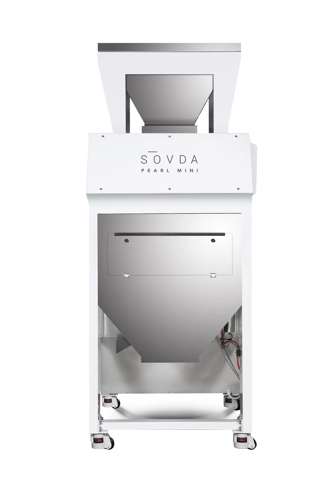 Coffee sorting has a new standard. This is the SOVDA Pearl Mini. Engineered for high efficiency and next level quality control. -