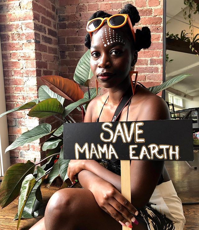 Save Mama Earth ✨♻️✨ The future needs us! . . . Climate Change is real. The world is in a crisis and needs our help. Join us today on the south side to help clean up Shepherd park aka zombie park. We'll clean up trash, paint some benches and plant flowers to beautify a neighborhood that gets neglected too often. . . Let's change the climate change narrative. Let's build the gap between communities of color and environmental advocacy together. ✨♻️✨ #swapdc #climatechangeisreal #climatestrikedc #stopclimatechange #nationalwildlifefederation #swapmoredc #zerowaste #zerowastedc #hurricanedorian #thereisnoplanetb