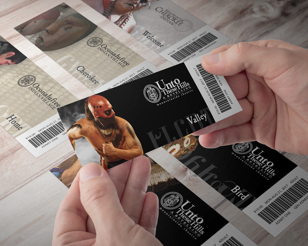 Customized Tickets Developed for each Venue
