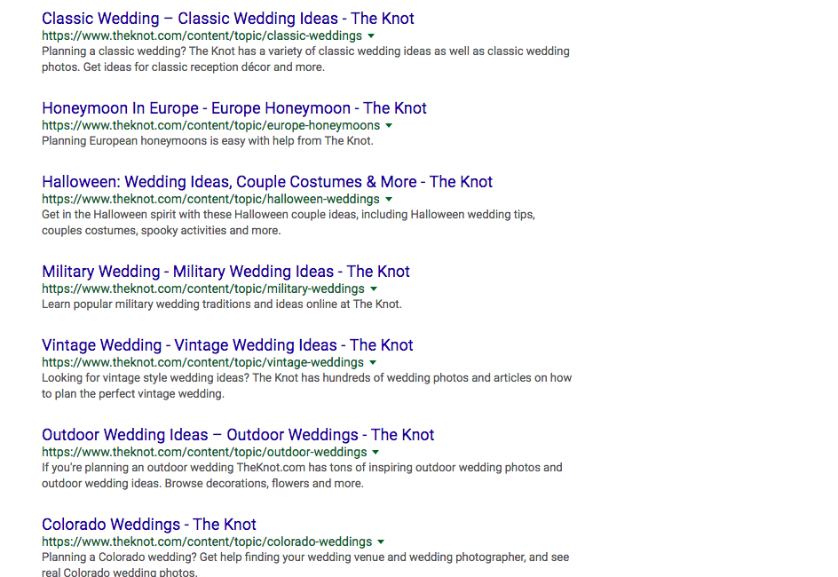 Finding keyphrases for your website