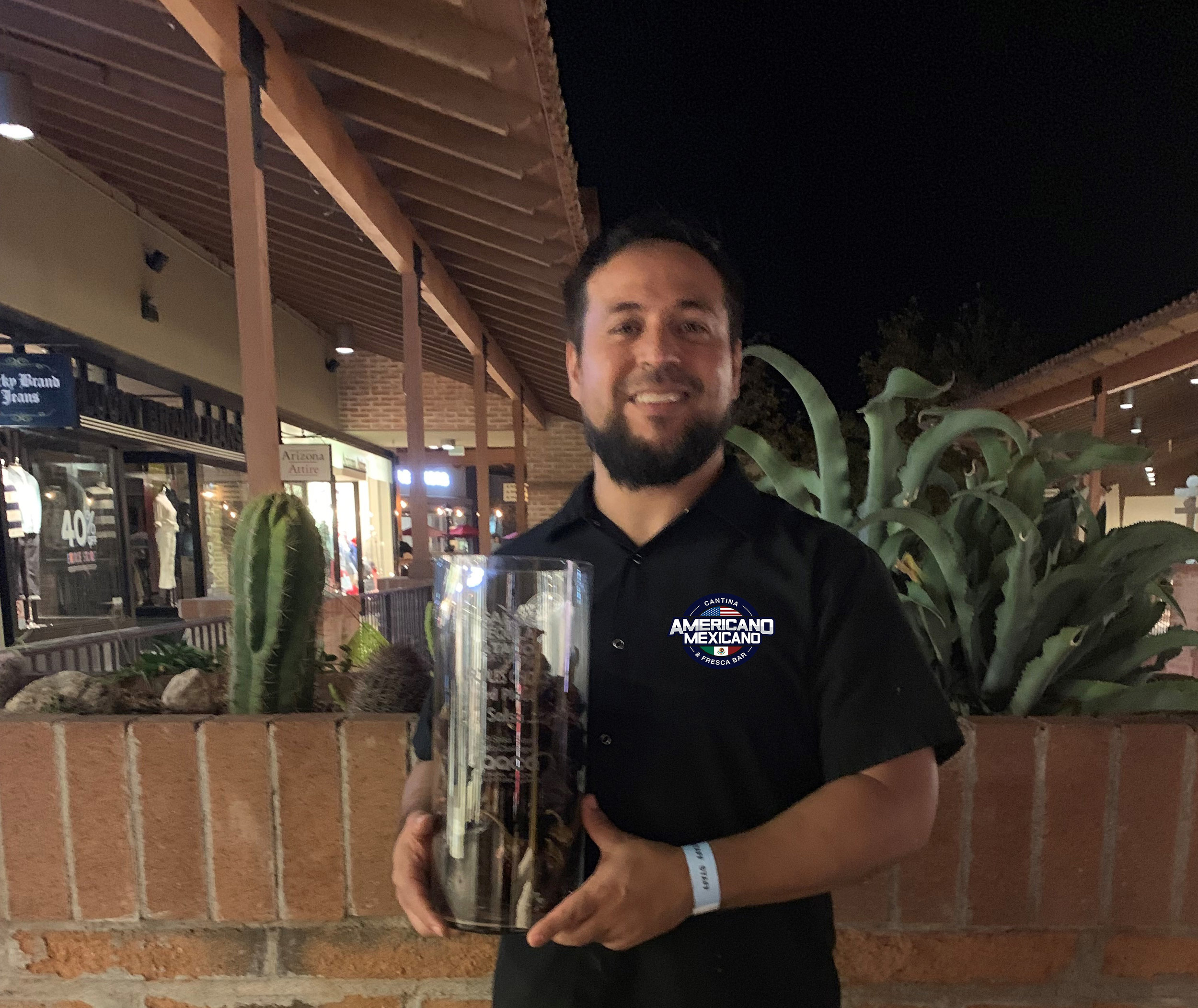 Salsa, Tequila and Taco Challenge (La Encantada) Placing in the Top 3 for the first time participating! 2019