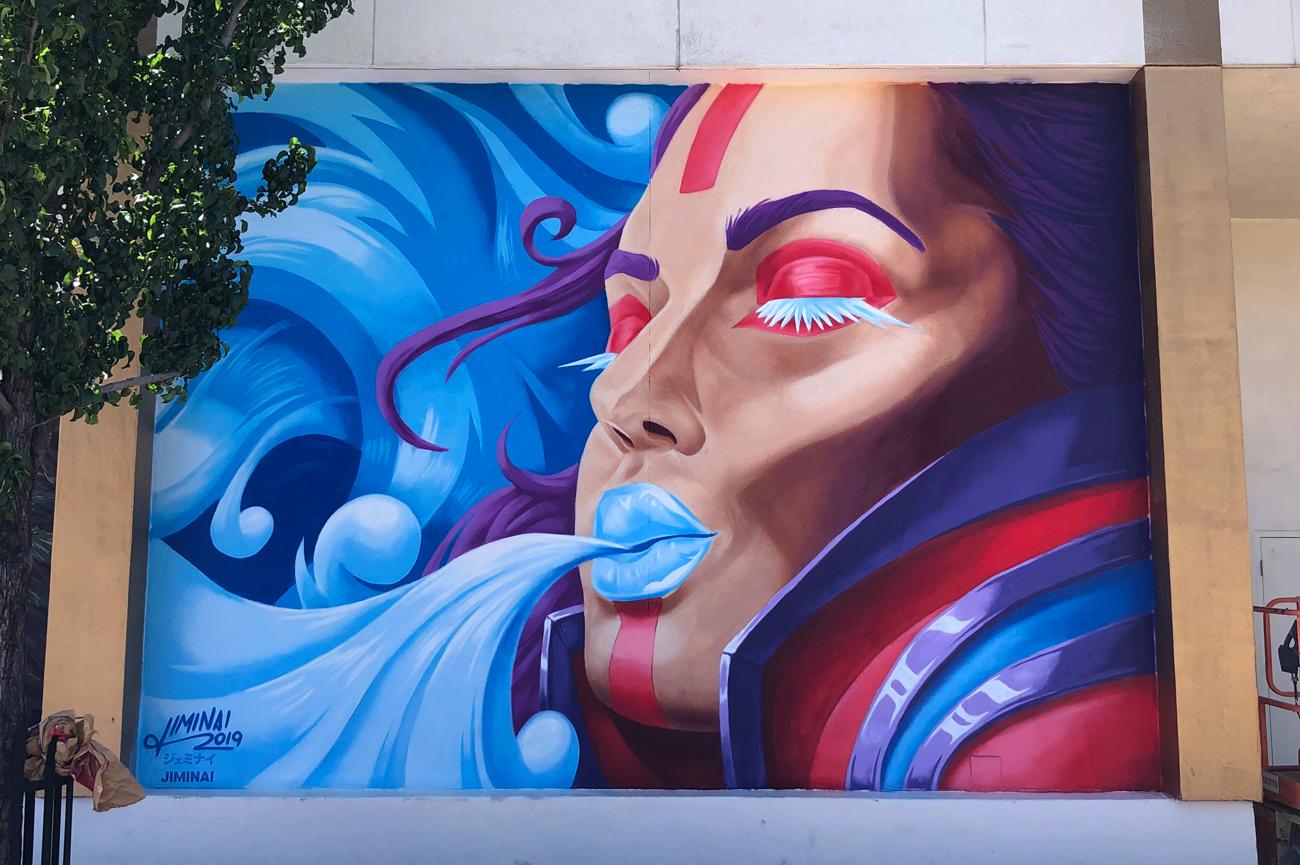 Jiminai Circus Circus Reno Mural