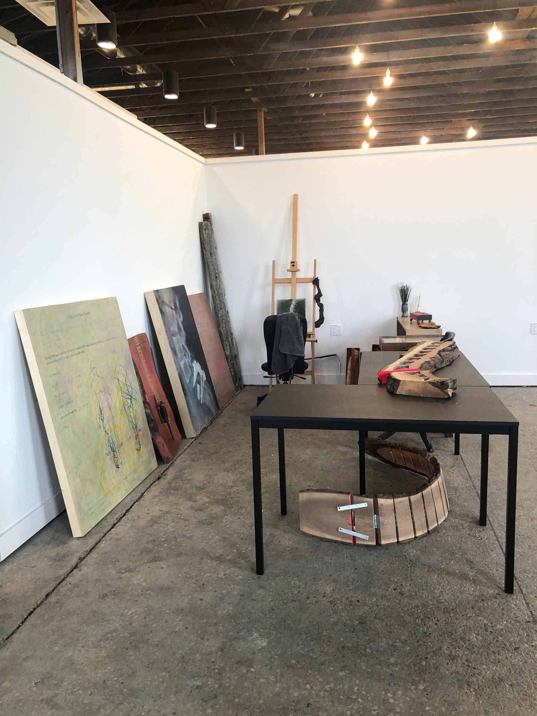 My new studio at  Studio72