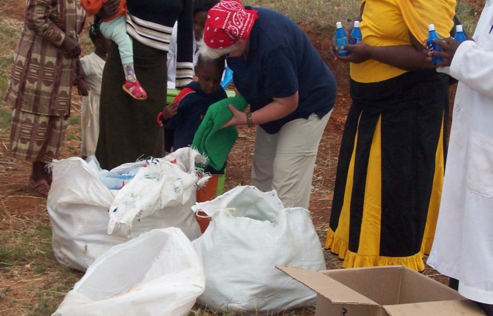 Distributing Nets and Water Guard to Families